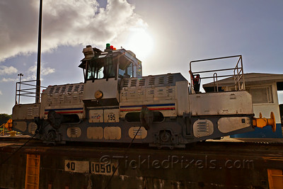 Towing Locomotive #195 (Mule)