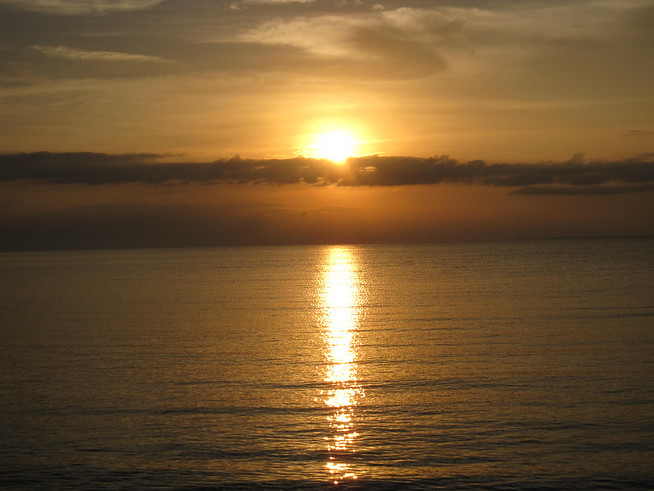 Sunsrise in Corozal, Belize