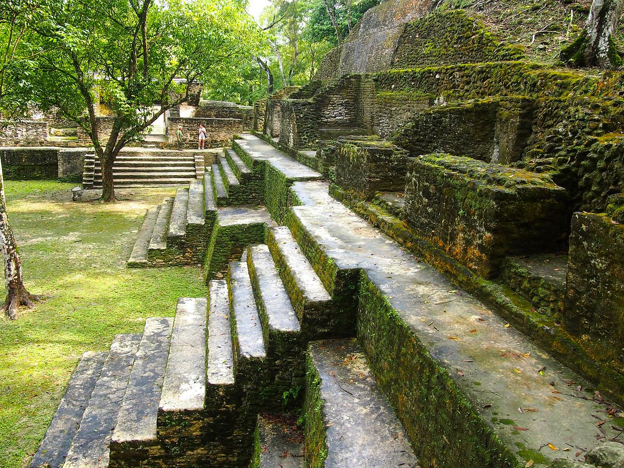 Cahal Pech ruins in Belize