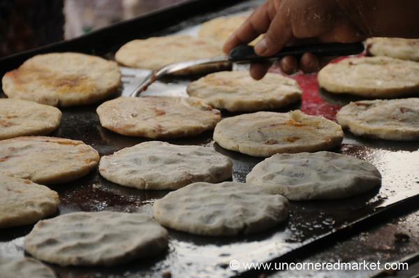 The Best Pupusas - Juayua, El Salvador