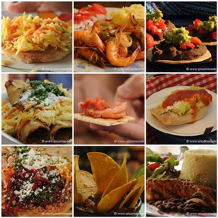 Best of Central American Food, a Mosaic