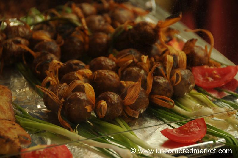 Chorizo Balls - Juayua, El Salvador