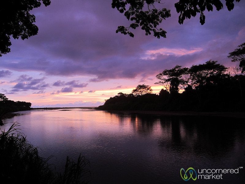 Sunset at Dominical, Baru River Side - Costa Rica