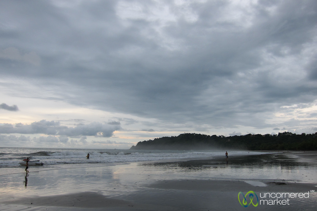 Manuel Antonio Beach, Late Afternoon Waves - Costa Rica