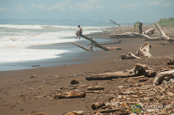 Domincal Beach, Watching the Waves - Costa Rica