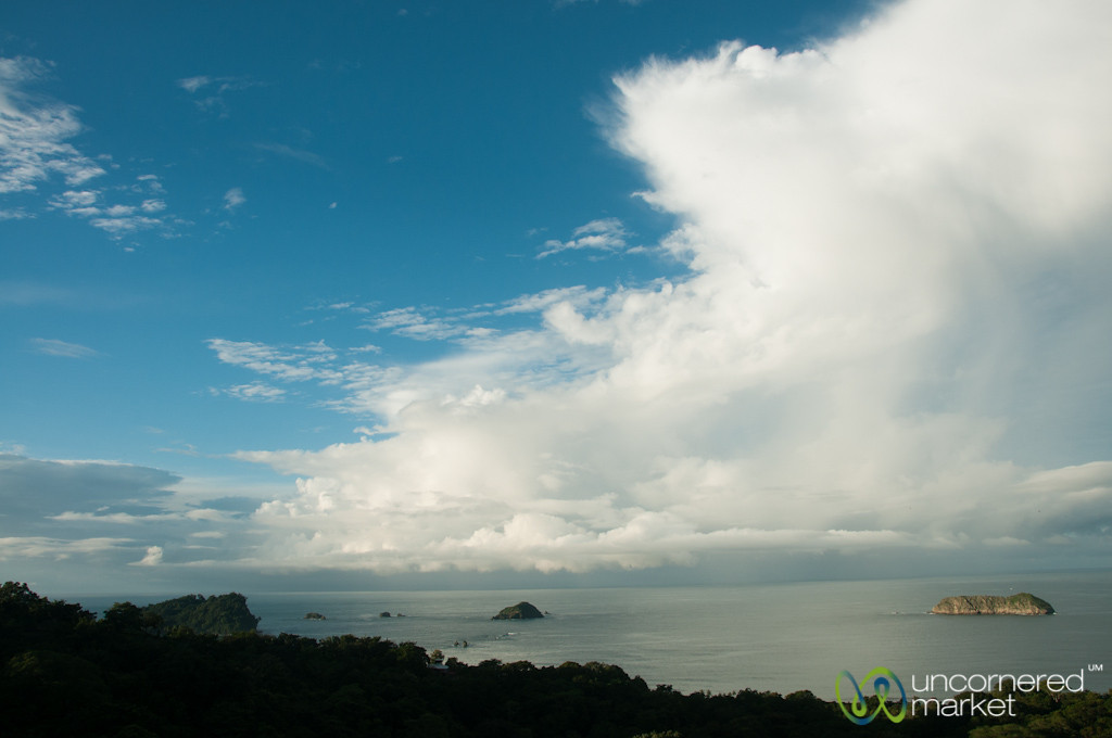 View Over the Pacific Coast, Manuel Antonio - Costa Rica