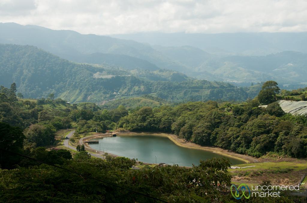 Morning Views, Cartago to Turrialba, Costa Rica.