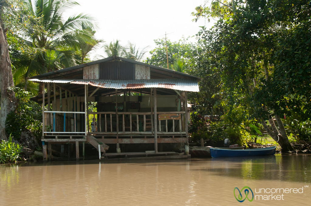 House on the Water - Tortuguero, Costa Rica