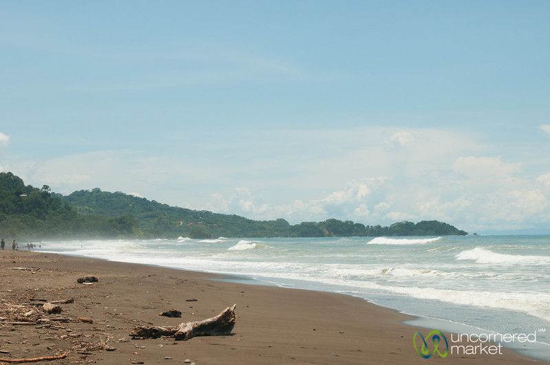 Domincal Beach, Big Waves - Costa Rica