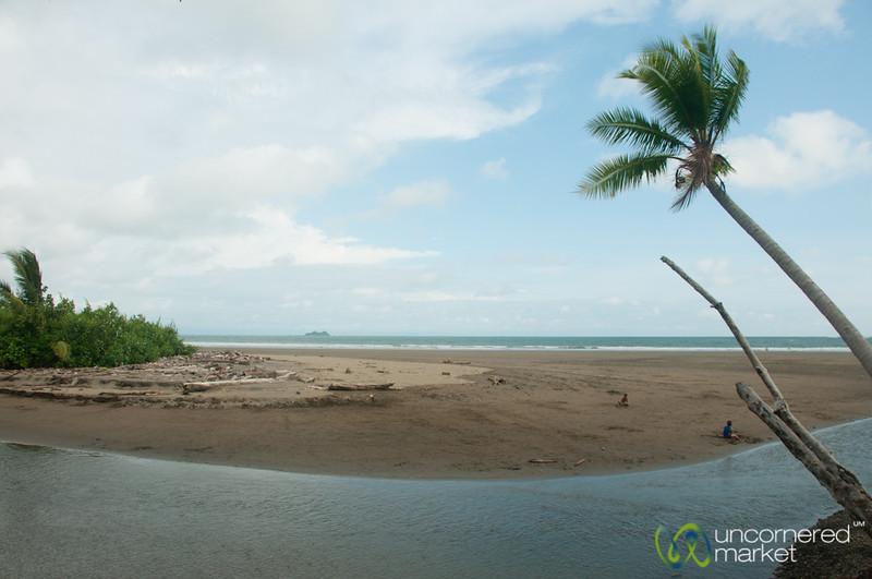 Bahia Ballena on the Pacific Coast - Costa Rica
