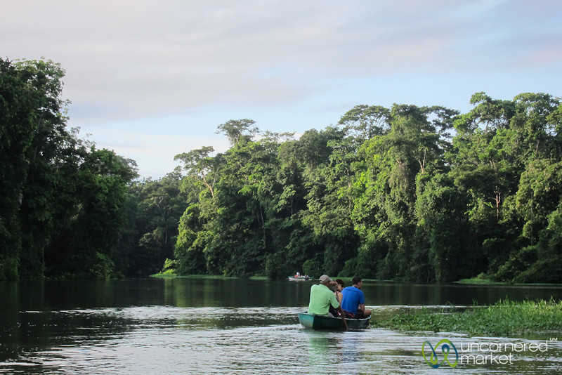 Tortuguero Canals, Canoe Ride - Costa Rica