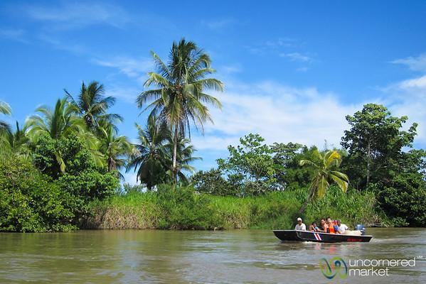 Local Boat on Canals of Tortuguero, Costa Rica