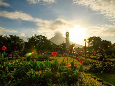 Arenal Volcano in La Fortuna, Costa Rica