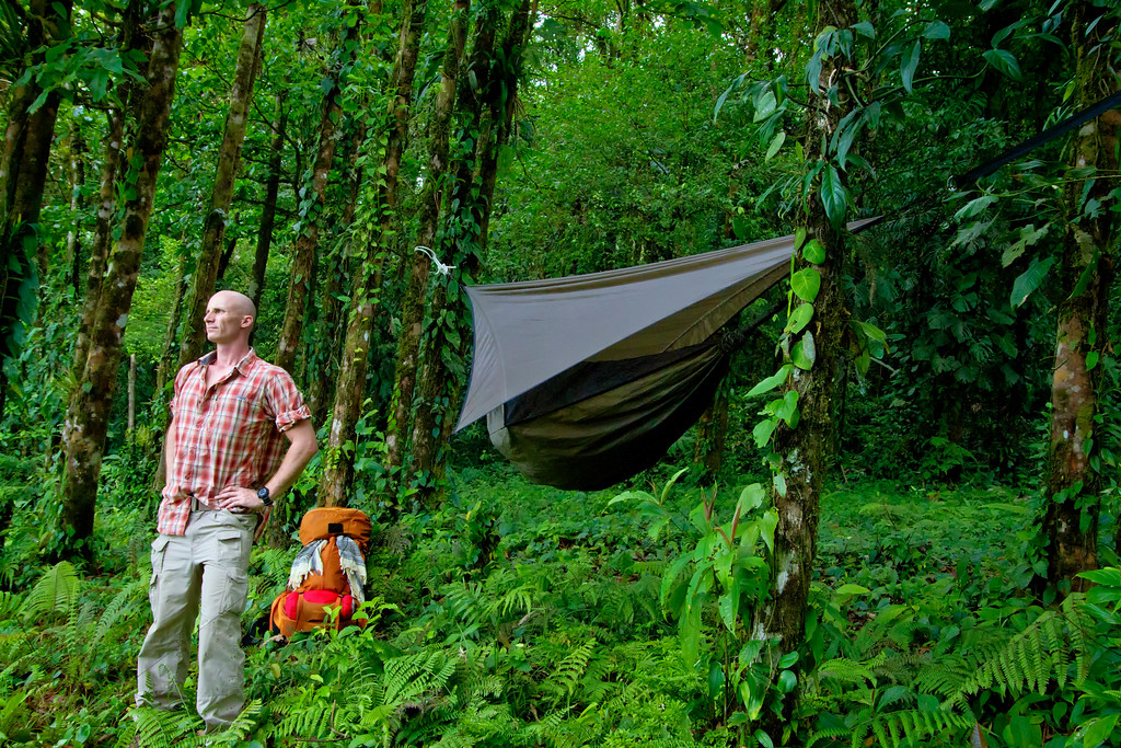Medium image of hammock camping in costa rica
