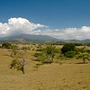 Crossing from Nicaragua to Costa Rica, we entered a dry area with grazing cattle and volcanic peaks in the distance.  We waited in the city of Liberia for our American friends Tod and Lisa.