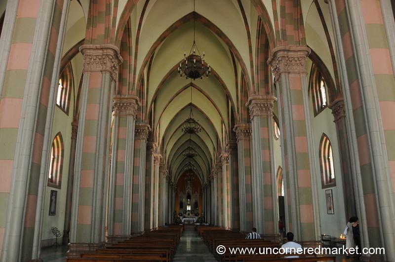 Cathedral's Interior - Santa Ana, El Salvador