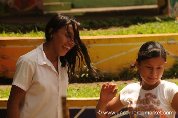 School Kids in Perquin - El Salvador