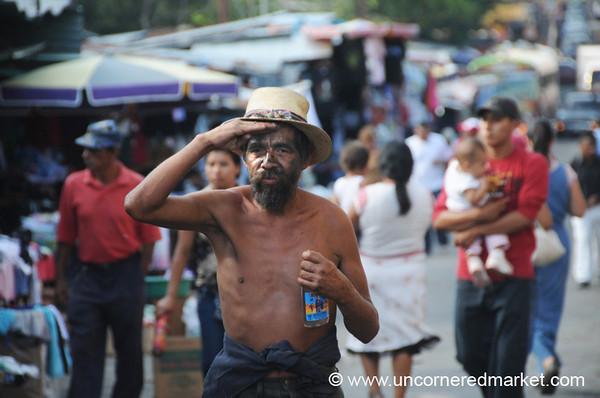 Shirtless Man - Santa Ana, El Salvador