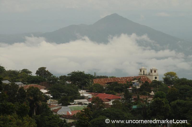 View Over Alegria, El Salvador