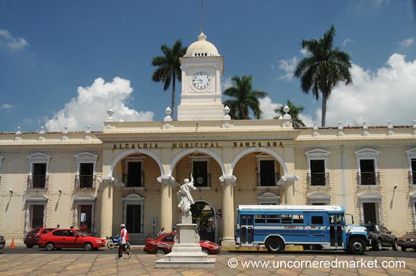 Municipal Building in Santa Ana - Santa Ana, El Salvador