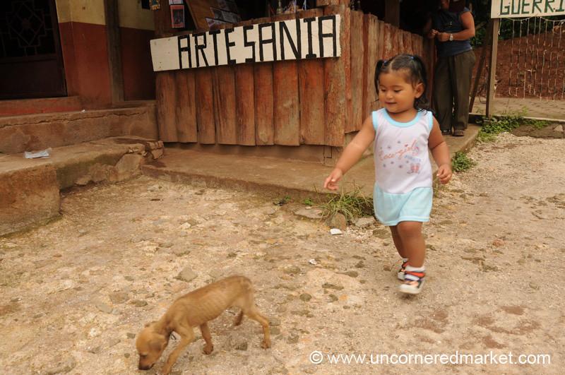 Perquin, El Salvador: Chasing the Dog