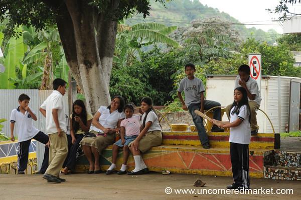 Baseball Time in Perquin - El Salvador