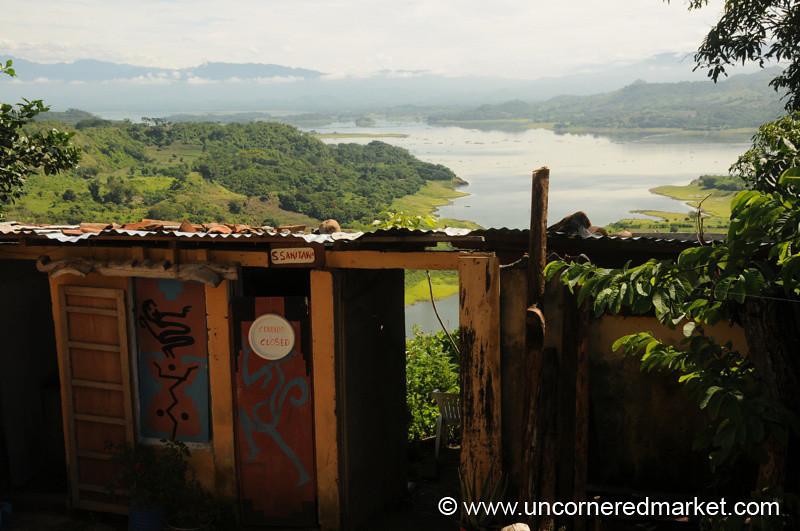 Bathroom With A View - Suchitoto, El Salvador