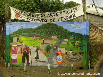 Perquin Mural - Perquin, El Salvador