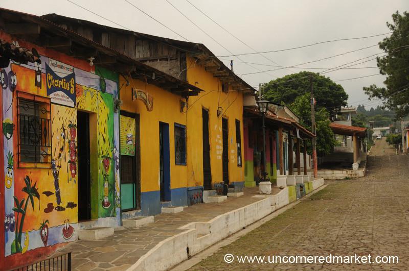 Colorful Homes - Ataco, El Salvador