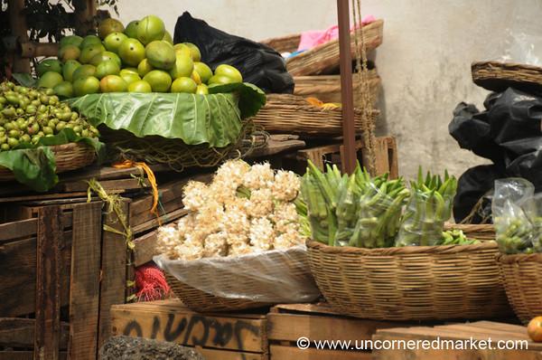 Okra, Green Onions and Limes - Juayua, El Salvador