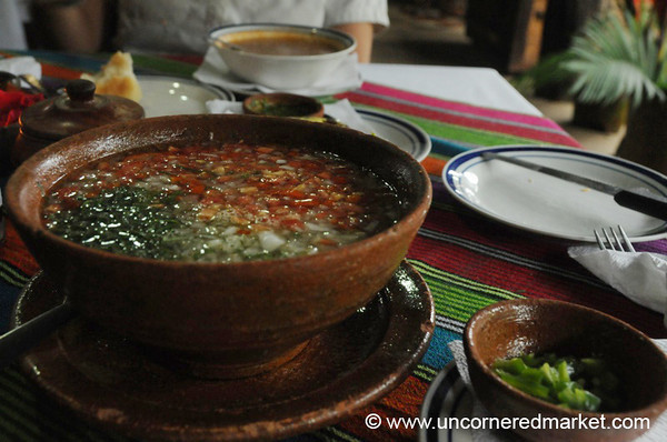 Flavorful Soup - Ruta de las Flores, El Salvador