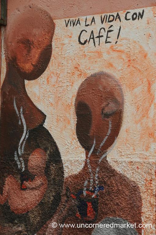 Coffee Mural - Juayua, El Salvador