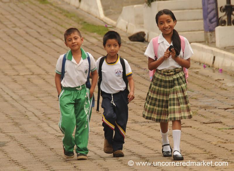 School Kids - Ataco, El Salvador