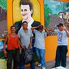 We enjoyed taking pictures of the murals and some of the locals were happy to let us take their photos as well.