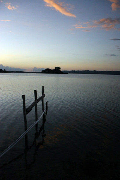 A boat dock in Flores