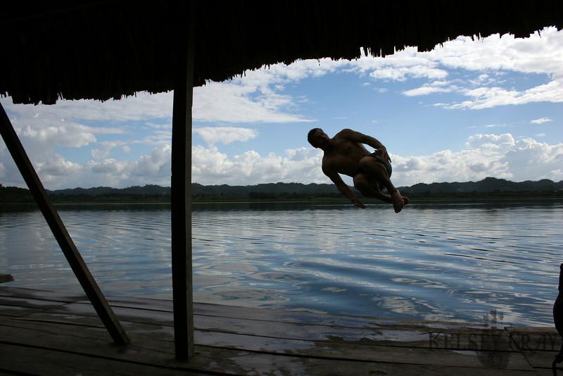 Kelsey Gray, Lake Peten Itza