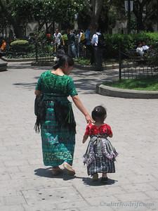 Guatemalan Park Scene