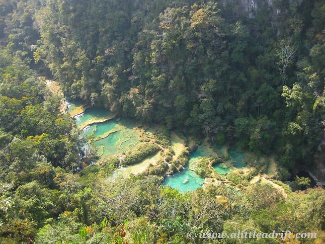 Semuc Champey waterfalls, Guatemala