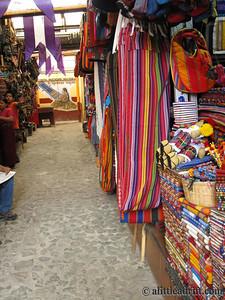 Artisan Market Stalls, Antigua