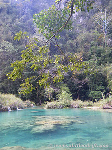 Semuc Champey Turqouise Pools