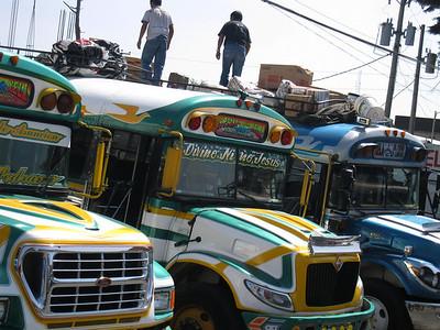 Guatemalan Chicken Buses