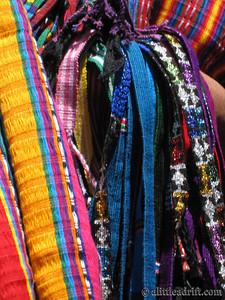 Scarves at a Guatemalan market