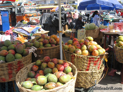 Mango Galore in Xela, Guatemala
