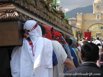 A Much Cheeier procession
