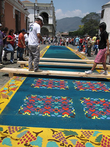 Beautiful Semana Santa Carpets