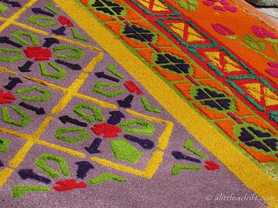 Specific details on Semana Santa Carpet