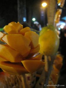 Mango Food Art