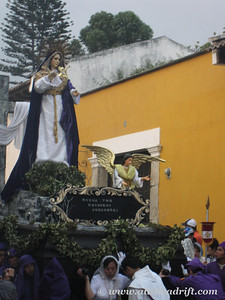 Mary's Processional Float