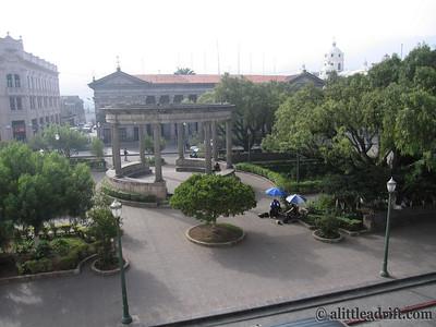 Xela's Parque Central
