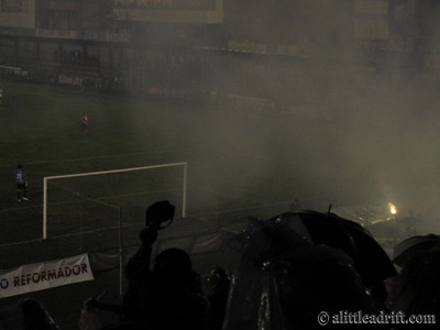 Smoke Obscuring the Field